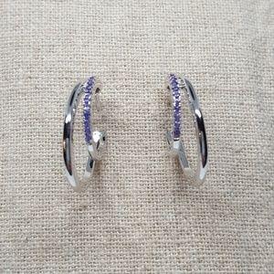 Jewelry - Sterling Silver Double Hoop Earrings